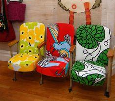 Marimekko Upholstered Theater Seats!