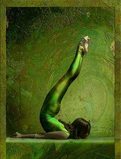 Locust pose. #yoga