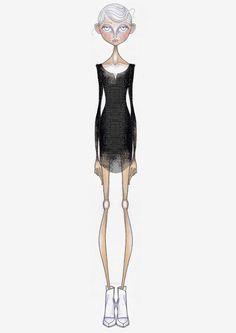 Fashion illustration // Leandro Benites