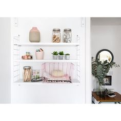 Good morning lovely people. How gorgeous is this shelving display? From the super-creative and inspiration-filled home office of @aptapothecary - out now on @apartmenttherapy