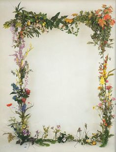 jim hodges threshold | beautiful as a floral photo backdrop for wedding or special event. Or use fake flowers for store window display idea