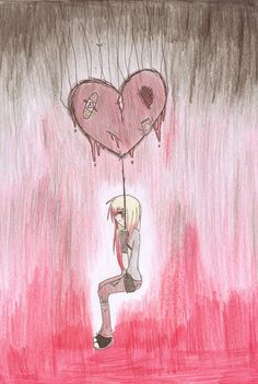 DeviantArt - The Largest Online Art Gallery and Community Sad Heart, Online Art Gallery, Dark Art, Projects To Try, Deviantart, Artist, Cute, Hearts, Magic