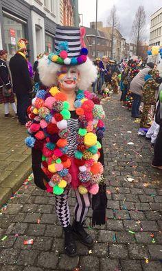 Carnaval pom pom jas