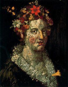 Flora (1591) Giuseppe Arcimboldo