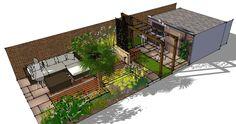 Family Garden Design in Walthamstow