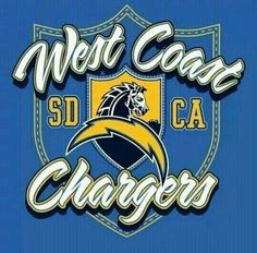 West Coast Chargers SD/CA