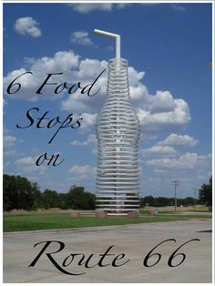 6 Food Stops on Route Oklahoma Where to eat on Route 66 Road Trip Map, Route 66 Road Trip, Travel Route, Travel Usa, Road Trips, Usa Roadtrip, Vacation Places, Vacation Destinations, Vacation Trips