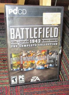 BATTLEFIELD 1942: THE COMPLETE COLLECTION 8-DISC PC CD-ROM SET, COMPLETE, GUC