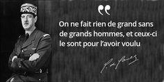 Malraux : « Chez #DeGaulle, il n'y a pas de Charles » #histoire de #France en #citations