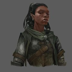 wintergrey:  paolopuggioni:  (via Towns of The Inner Sea - Paolo Puggioni - Concept Art)  Good commentary at the site on getting darker skin tones and highlights right. Much appreciated.