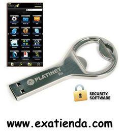 Ya disponible MEMORIA USB 2.0 PLATINET 8GB BOTTLE OPENER         (por sólo 6.95 € IVA incluído):   - PLATINET PENDRIVE USB 2.0 8GB ABRIDOR BOTELLA - El chasis de aluminio provee la más alta durabilidad y seguridad para sus datos almacenados. - El pendrive está diseñado para poderle atar una cuerda/collarín con facilidad - El pendrive no requiere de drivers o ningún software adicional. Plug and Play: el ordenador detecta automáticamente el dispositivo al ser insertad