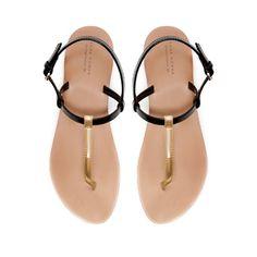 SANDALIA TIRA - Zapatos - Mujer   ZARA España
