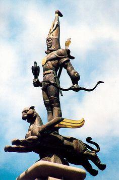 Szkíta harcos  szobor