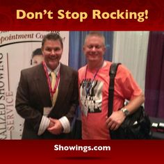 "Jason Jakus, owner of Platinum Elite Realty, is keeping the party going with Ron Fuller at the ""Rock Your World"" Expo in Florida today! Turn the volume ""up to eleven""!"