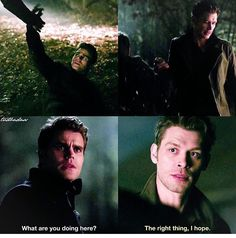 """#TVD 7x14 """"Moonlight on the Bayou"""" - Stefan and Klaus"""