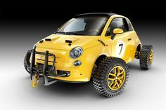 FIAT 500 OFF ROAD CONCEPT by Jomar Machado | Editorial Illustration | 3D | CGSociety