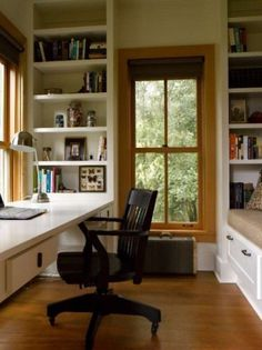 Writers Hut traditional home office