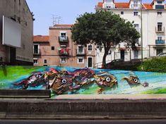 Je suis un passionné de street art, quand je peux tomber dans Paris au détour d'une rue, sur une oeuvre artistique, ma journée n'est que bonheur. Le street artiste nommé Bordalo II (Bordalo Segundo) place son art depuis quelques temps son talent dans les rues de Lisbonne. Pour chaque création il utilise de vieux pneus, […]