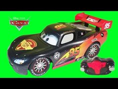 Disney Cars TURBO LIGHTNING MCQUEEN Remote Control Cars RC Pixar Toy Video Little Wishes Kids Videos - YouTube