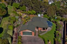 An elevated view of a property in South Auckland, New Zealand