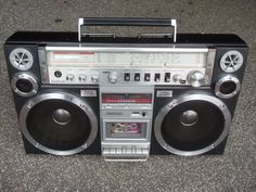 The most beautiful Boombox ever created IMHO.