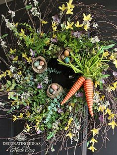 "Easter Wreath from DIY user ""Decorating Ideas"" >> http://diy.roomzaar.com/rate-my-space/Holidays/Easter-Wreath/detail.esi?oid=27840186=pinterest#"