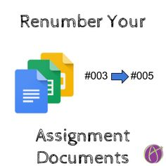 Auto Number Assignment Documents - Teacher Tech