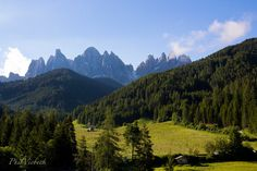 Santa Magdalena, Val di Funes, Dolomites, Alps Italy, Photograph by Phil Viebeck $15.00