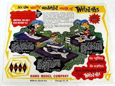 Hawk Weird-Ohs poster (1965)
