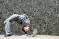 Agile Leaders: Born or Bred? - Chief Learning Officer, Solutions for Enterprise Productivity Bend Over, Leadership, Stock Photos, Bending, Learning, Productivity, Environment, Images, Laptop