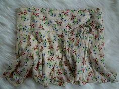Women Sz LARGE, 8 #AmericanEagleOutfitters #Cotton #Floral #MiniSkirt #Flounce #Skirt #Skater #Girly #Girlie #Fashion