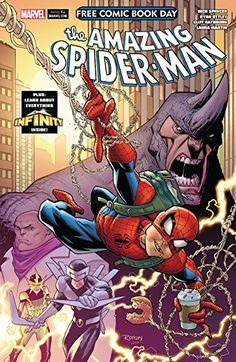 Free Kindle Book - Free Comic Book Day Amazing Spider-Man/Guardians Of The Galaxy Rare Comic Books, Comic Books For Sale, Spider Man 2018, My Superhero, Free Comics, Marvel Entertainment, Free Kindle Books, Free Ebooks, Amazing Spiderman