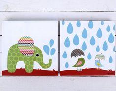 Funda de almohada de lino orgánico de los niños / elefante con Safari, Lana, Kids Rugs, Etsy, Home Decor, Great Gifts, Unique Gifts, Yellow And Brown, Linen Pillows