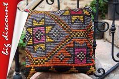 Kilim Pillow CoverLarge Decorative Throw Pillows by PillowcaseEce, $39.99