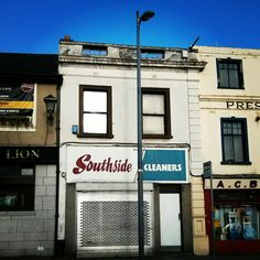 Southside Cleaners ghost sign, Dublin