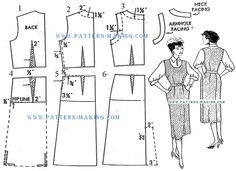 Drafting jumper dress
