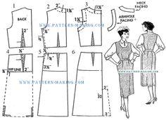 Drafting jumper dress