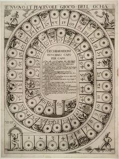 All sizes   Il nuovo et piacevole gioco dell ocha (1598)   Flickr -the royal game of goose