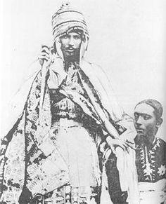 Yohannesson - Menelik II — Wikipédia