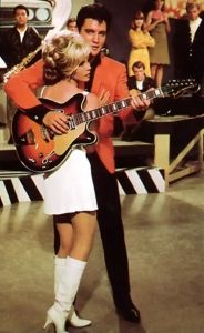 "Elvis, Nancy Sinatra and the guitar in the movie ""Speedway"" 1968"