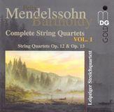 Mendelssohn-Bartholdy: Complete String Quartets, Vol. 1 [CD]