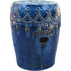 You'll love the Lahjar Drum Ceramic Garden Stool at Wayfair - Great Deals on all Furniture  products with Free Shipping on most stuff, even the big stuff.