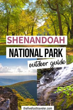 The acres of Shenandoah National Park is protected land full of beautiful hikes and waterfalls, all easily accessible via drive. Canada Travel, Travel Usa, Travel Tips, Travel Guides, Travel Destinations, What To Do Outside, Shenandoah National Park, Shenandoah River, National Parks Usa