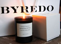 Byredo Apocalyptic fragranced candle - via Killer Colours