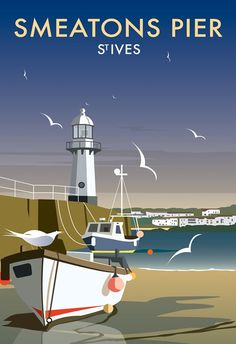 Smeatons Pier Art Print