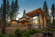 This modern mountain home captures views to Lookout Mountain, Mt. Pluto and Sawtooth Ridge.  A large terrace and covered porch flows out from all the main living spaces and Master Suite.  This home is currently under construction and is scheduled for completion in the summer of 2013.