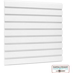 Martha Stewart Home Office™ with Avery™  Wall Manager Accessory Board 21600, Chalk White, 11-15/16in. x 11-3/4in.