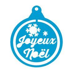 Boule de Noël Joyeux Noël