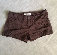 American Rag Juniors Brown Shorts Size 7 Cargo Style | Clothing, Shoes & Accessories, Women's Clothing, Shorts | eBay!