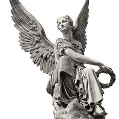 'Nijmegen, Holland Angel Statue' by observation Ancient Greek Sculpture, Greek Statues, Angel Statues, Geometric Tattoo Shoulder, Mother Mary Tattoos, Filigree Tattoo, Statue Tattoo, Angel Artwork, Angel Tattoo Designs